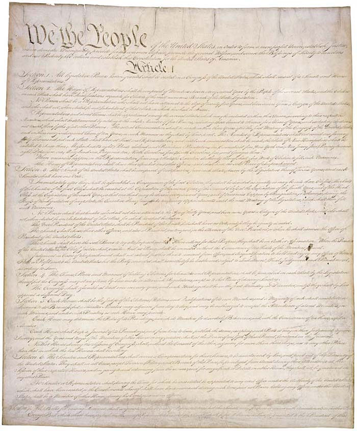 essay on the united state constitution